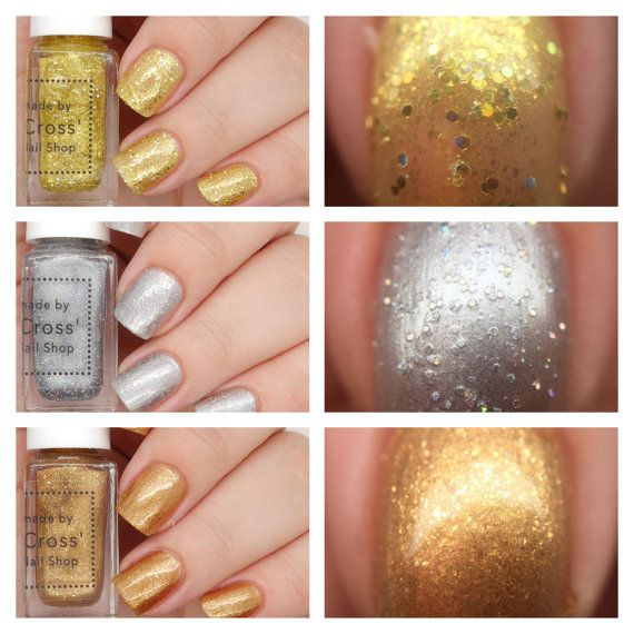 The Medal Collection 5ml handmade in the UK by MrsCrossNailShop ...