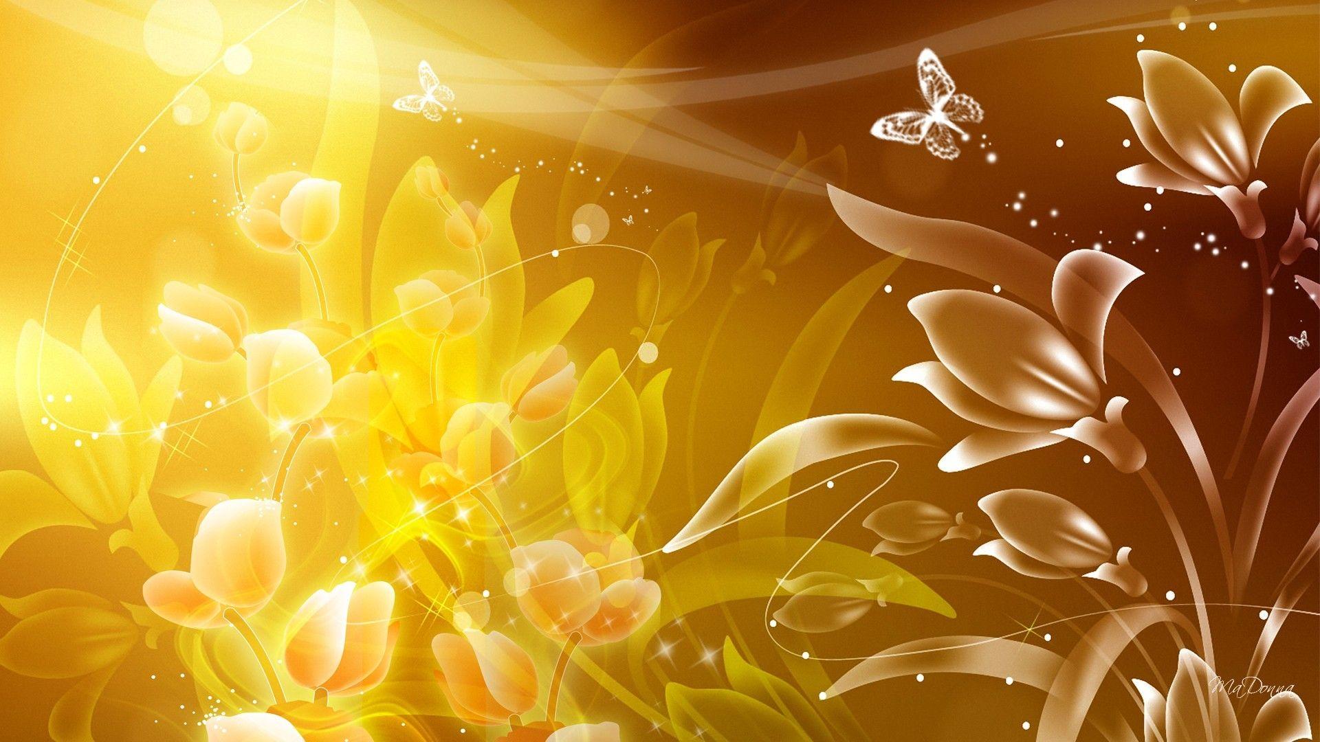 Desktop Wallpaper Gold Designs Best Hd Wallpapers Flower Background Wallpaper Gold Wallpaper Background Gold Yellow Wallpaper