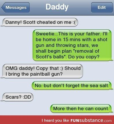 This is so my dad - FunSubstance