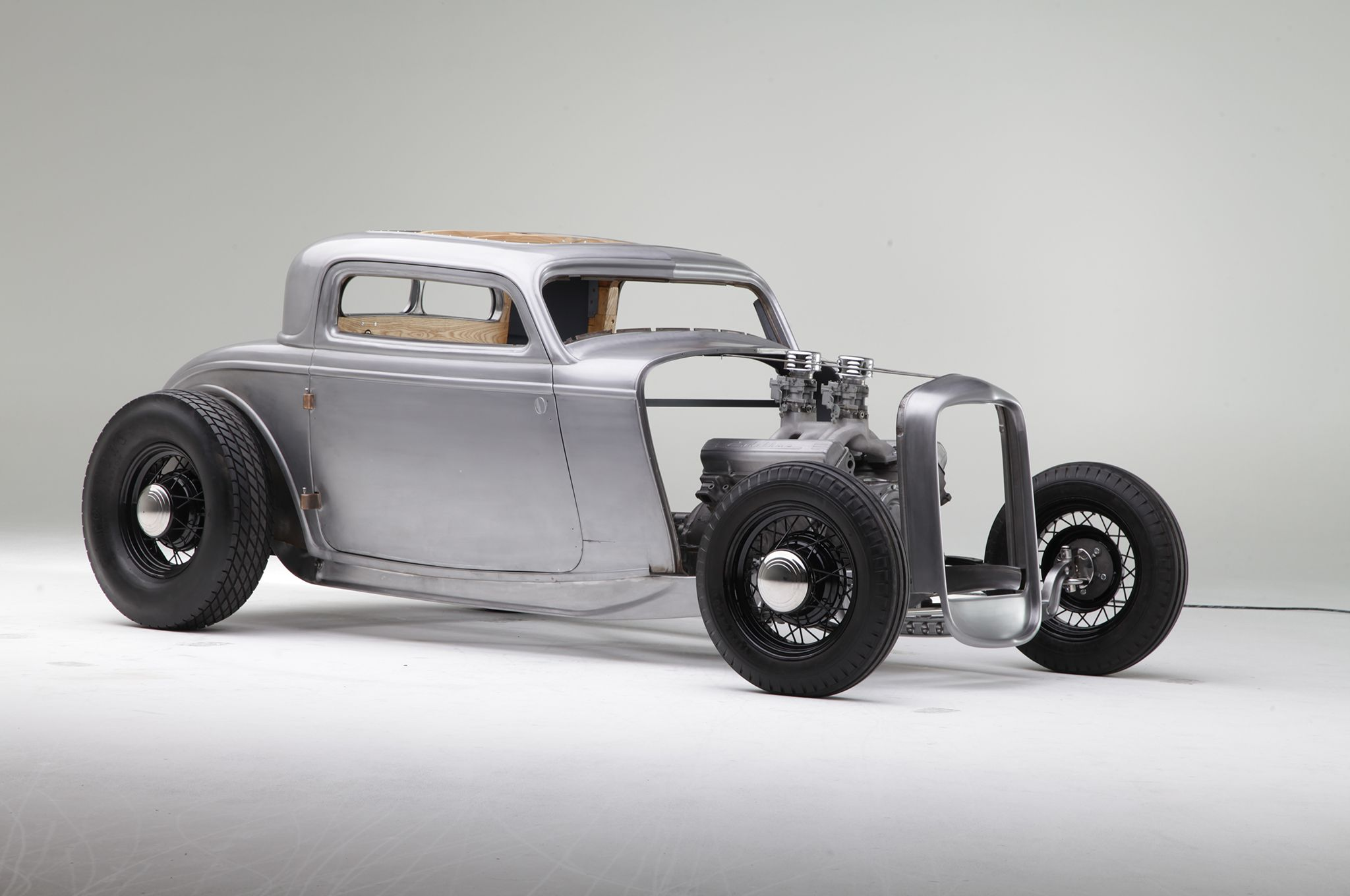 1932 Ford Coupe: Hollywood Hot Rods Bare Metal - Hot Rod Network ...