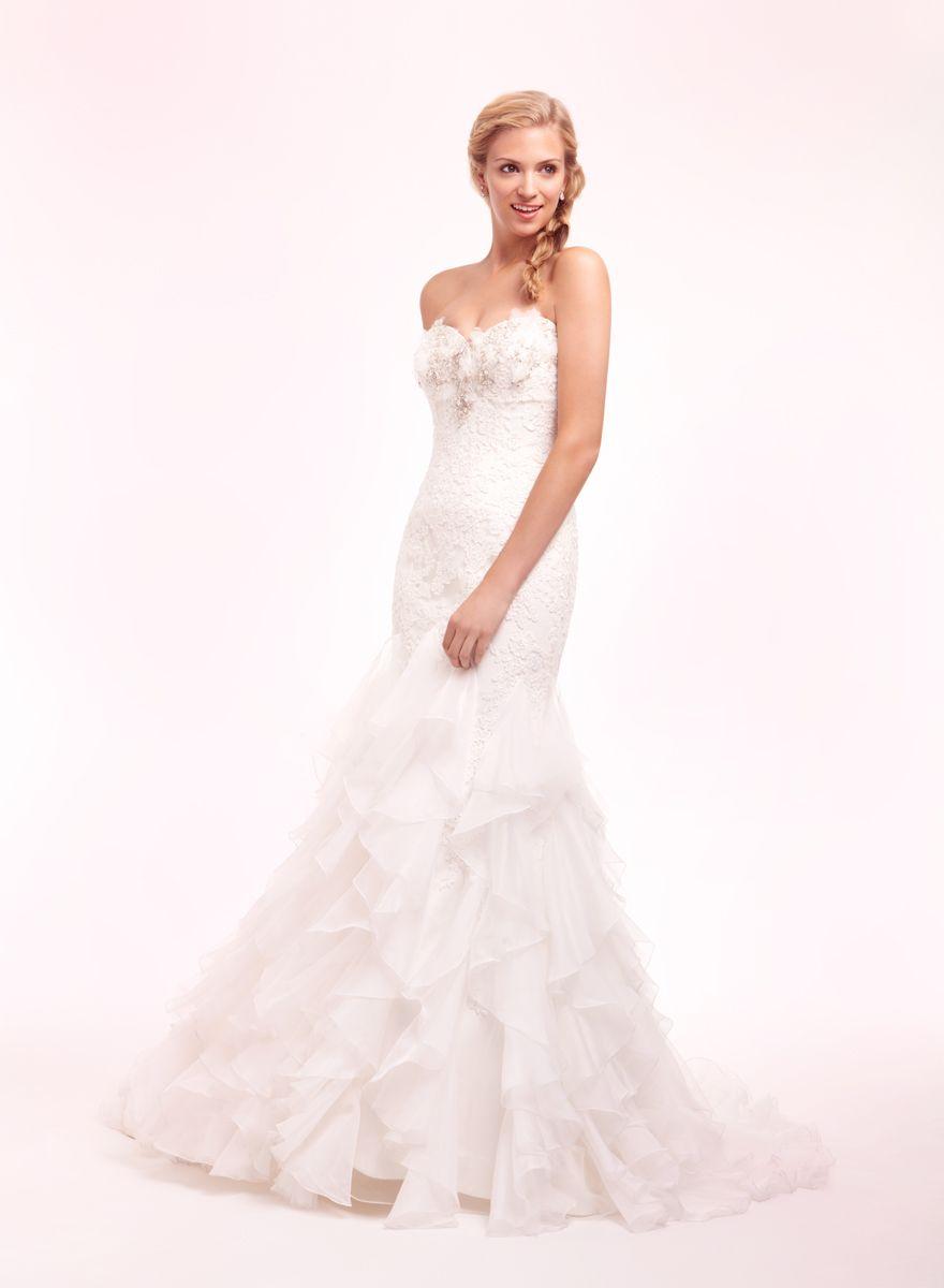 Bridal Gowns: Alita Graham Mermaid Wedding Dress with Sweetheart ...