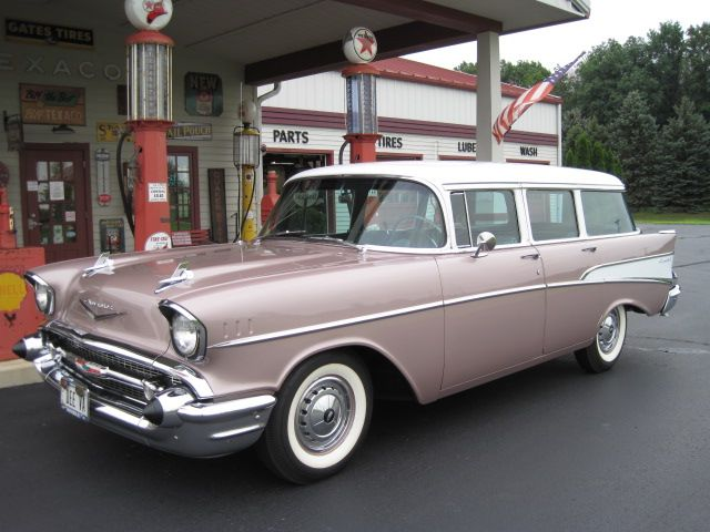 1957 Chevrolet 210 Townsman N Dusk Pearl 57 Chevy Bel Air Chevy