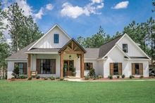 Modern Style House Plan - 4 Beds 2.5 Baths 2373 Sq/Ft Plan #430-184 #exteriorhousecolors