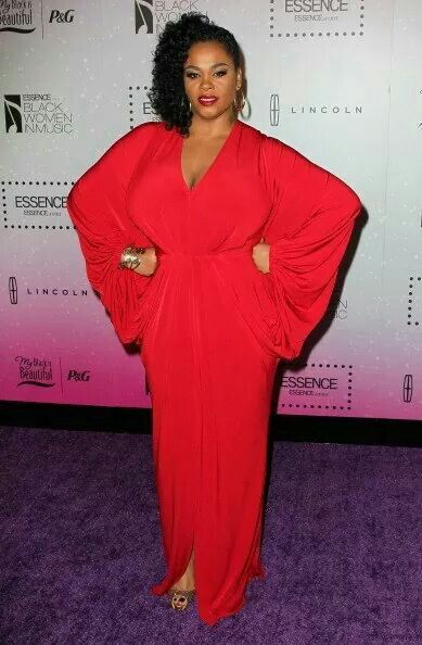 Jill Scott Red Dress