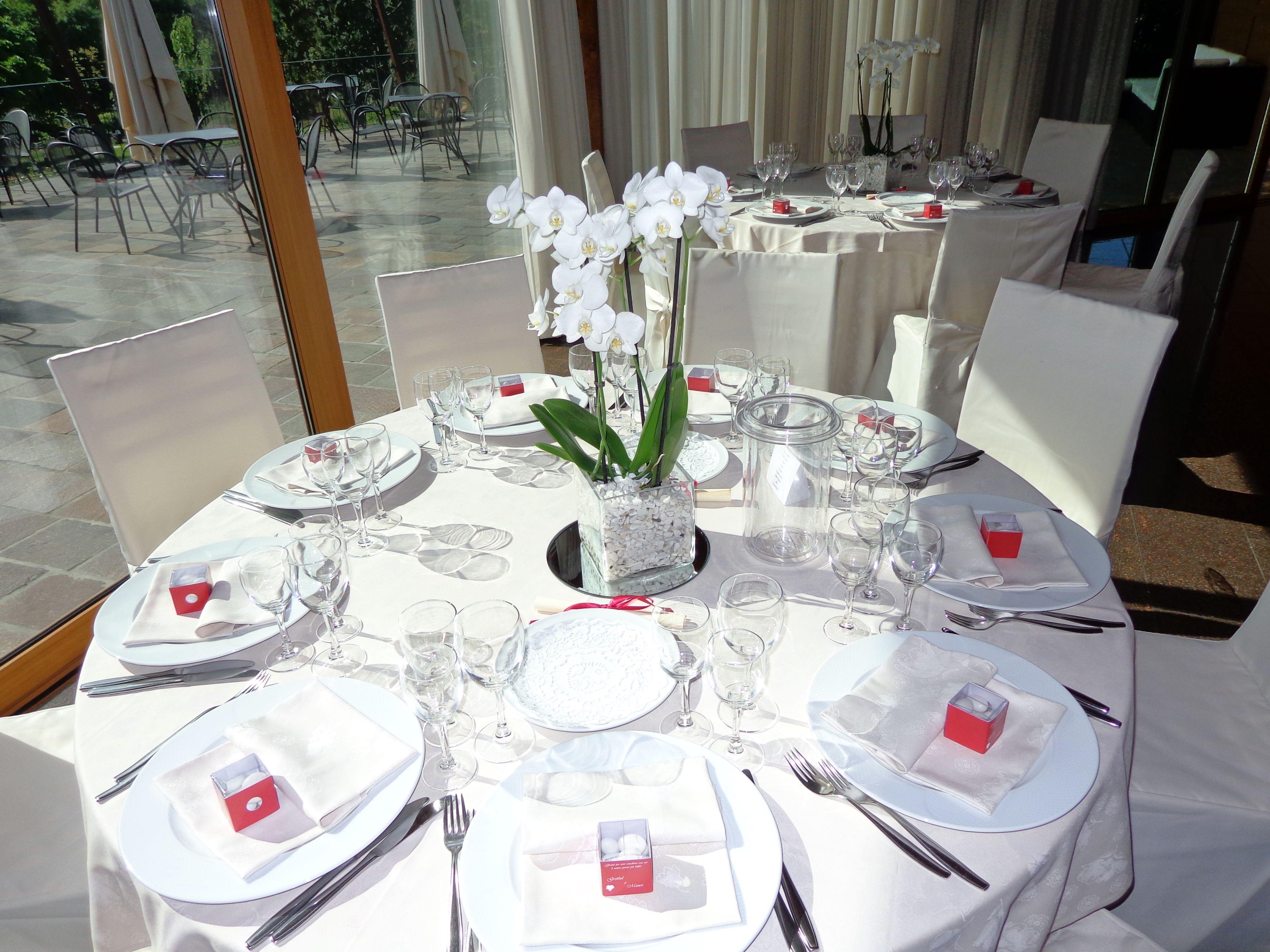 Tavolo Matrimonio ~ Allestimento tavolo per pranzo nozze al ristorante croce di malta