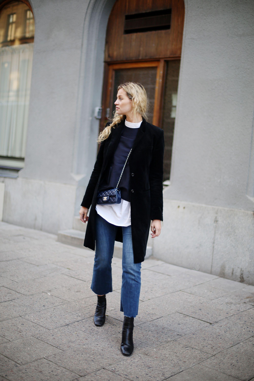 Sock boots & Chanel via - Anouk Yve