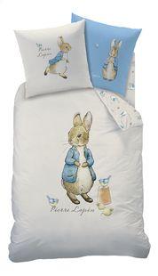 Dekbedovertrek Peter Rabbit katoen 140 x 200 cm  PETER