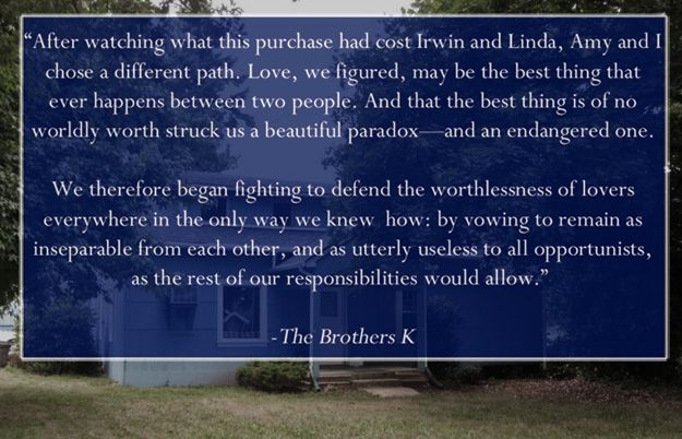 """""""The Brothers K"""" Is The Great American Novel You Haven't Read Yet"""
