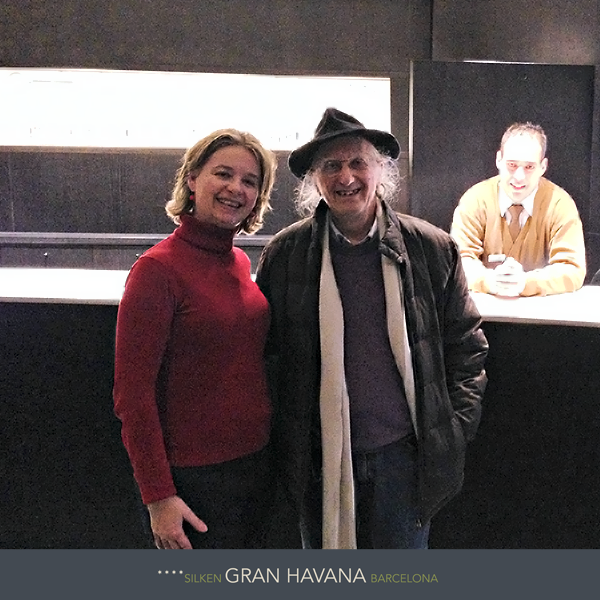 Encantados con la visita del Gran Mago Juan Tamariz en el Hotel Silken Gran Havana Barcelona   http://www.hoteles-silken.com/hoteles/gran-hotel-havana-barcelona/