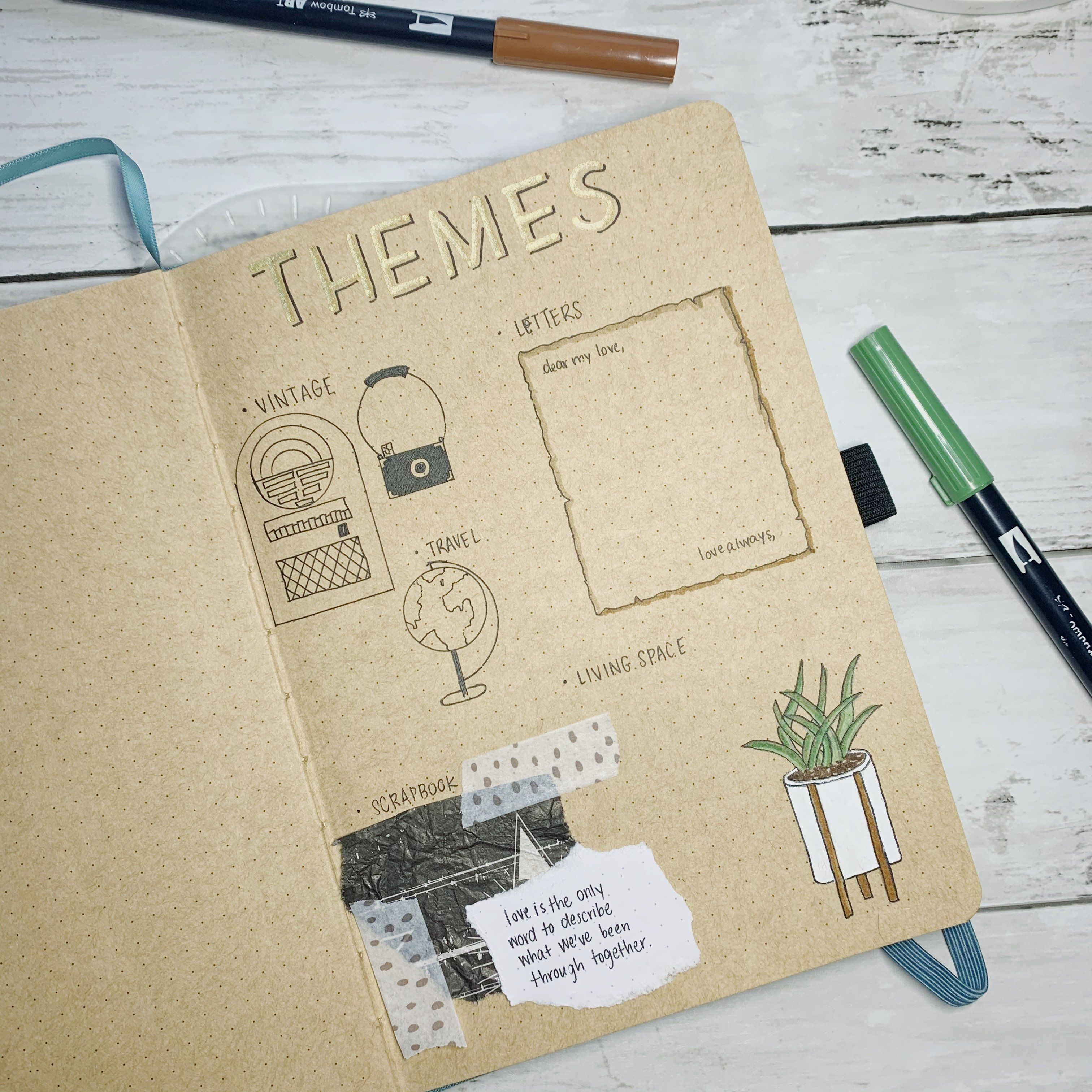 paisley Washi Tape Papercraft Planner Supply Journal bujo boho