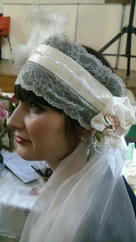 My latest 20s veil ..