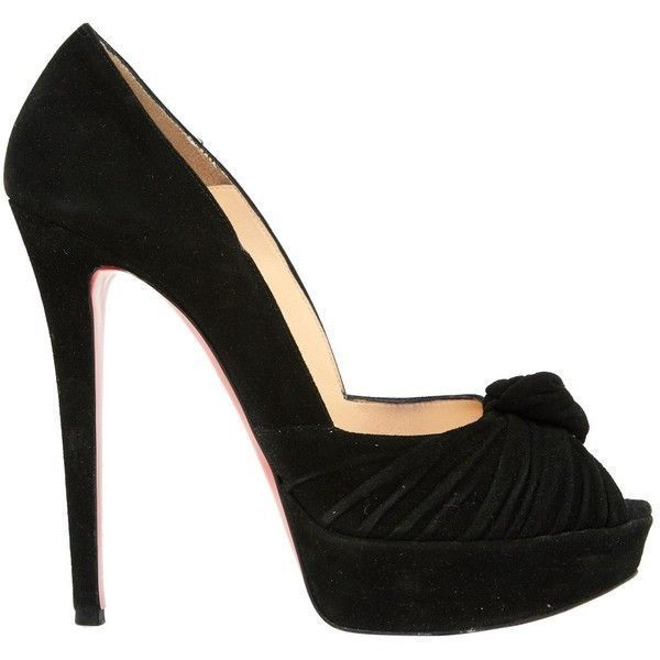 Pre-owned - Black Heels Christian Louboutin WzhzU9v