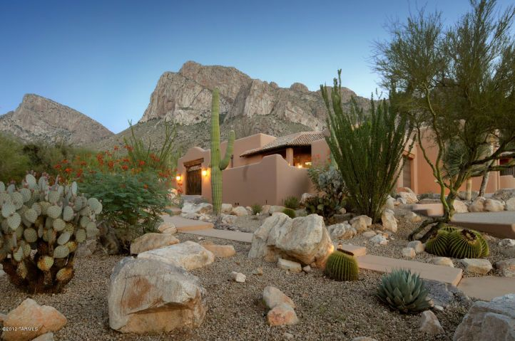 Desert Landscape Paisaje De Desierto Jardines Modernos 400 x 300