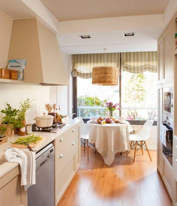 Cocina comedor. Ideas para decorar una cocina con zona de comedor ...