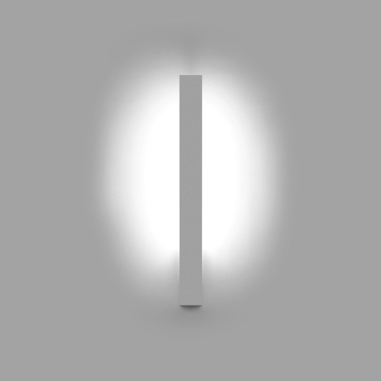 Applique murale contemporaine en métal  LED linéaire F LED