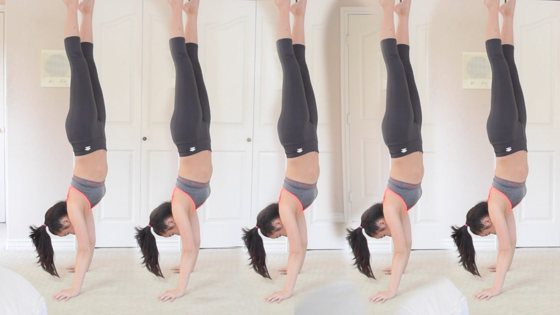 How to do a handstand + hold it for a long time