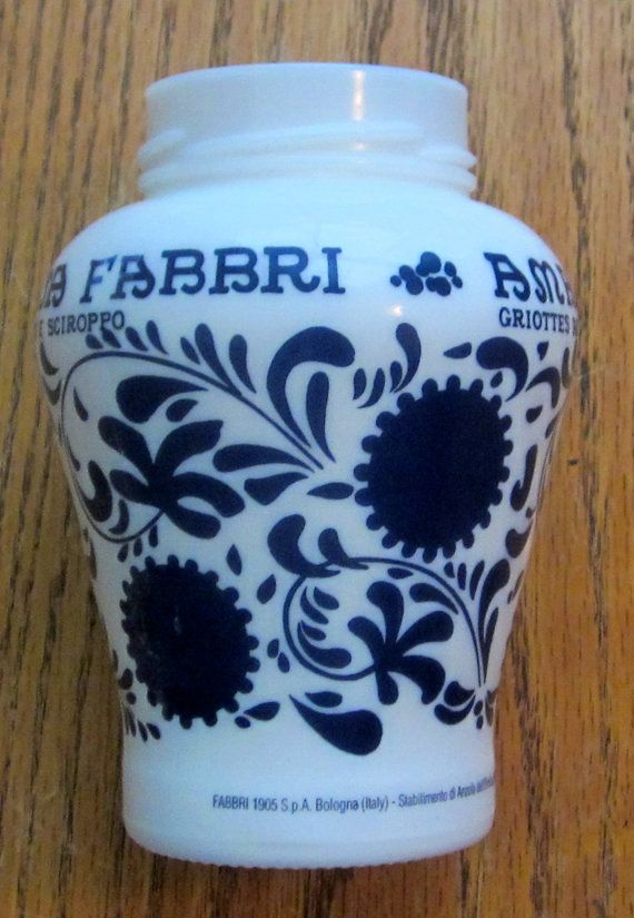 Vintage Amarena Fabbri 1905 S.p.A. Bologna Italy Milk ...