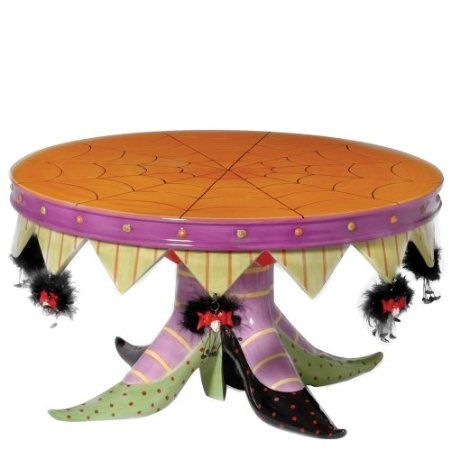 Amazon.com - Department 56 Krinkles Witch Shoe Cake Plate  sc 1 st  Pinterest & Amazon.com - Department 56 Krinkles Witch Shoe Cake Plate | Krinkles ...
