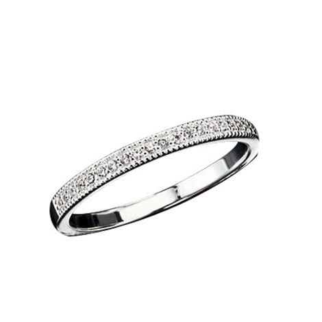 Avon Sterling Silver Pave Band Ring With Cz Accents Avon Ring Sterlingsilver Pave Avon Jewelry Band Rings Avon Rings