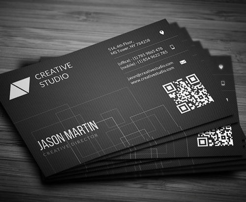 Clean corporate business cards print ready designs pinterest new modern style corporate business cards design wajeb Choice Image