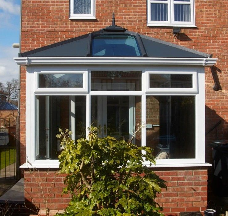 Its Epoch To Replace That Scrappy Out Of Date Roof Are You Wondering How Much It Will Cost To Install A Furthe Gable Roof Design Conservatory Roof Roof Design