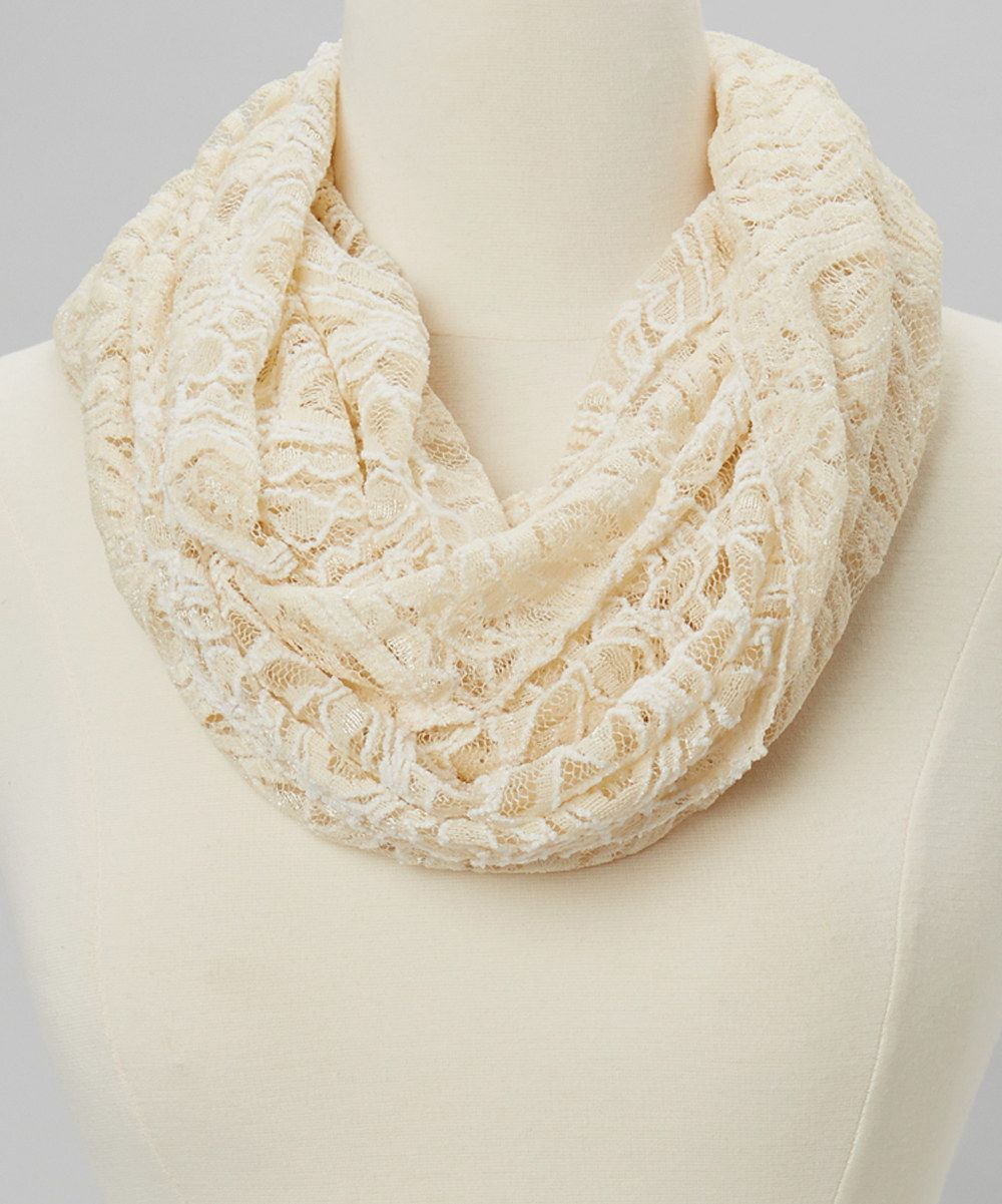 Ivory Paisley Lace Scarf   accessories   Accesorios, Belleza