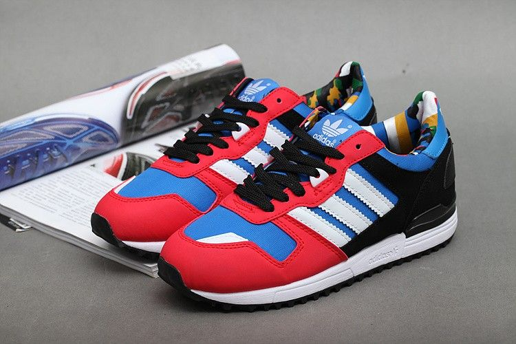 mens adidas blue zx 700 trainers