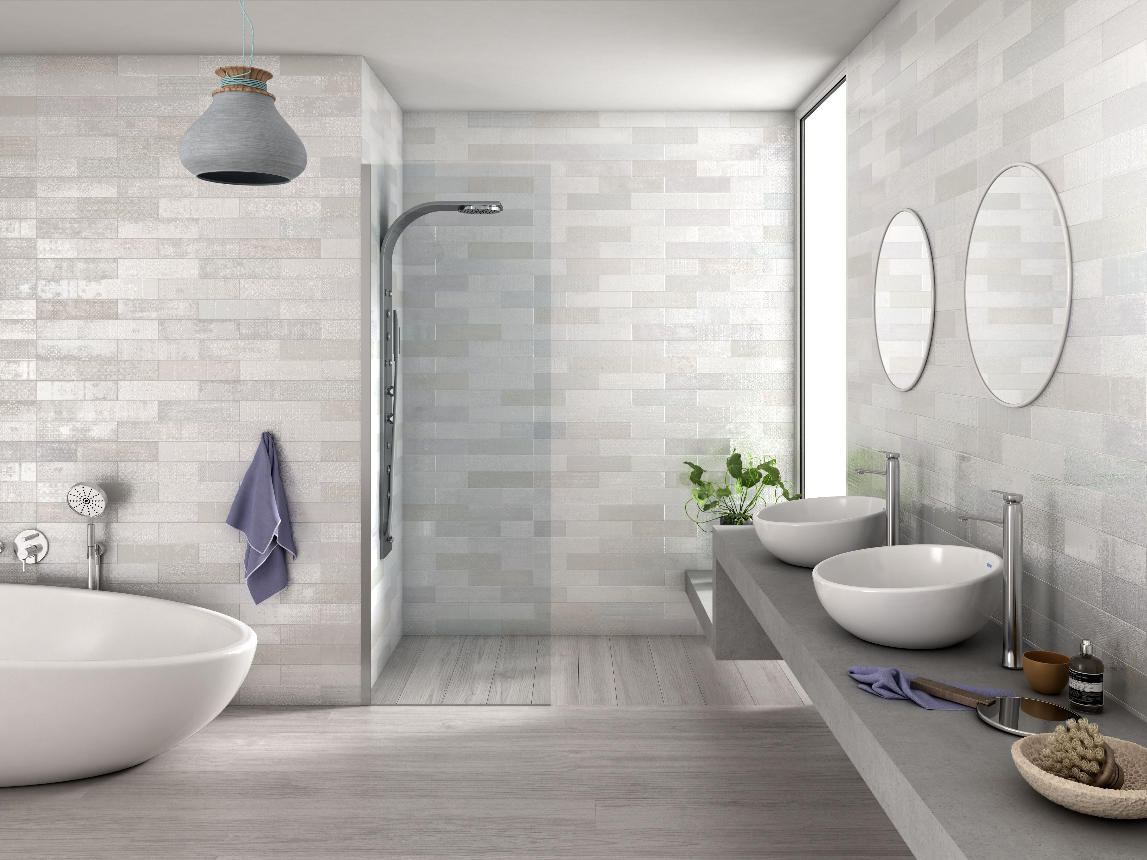 Boonthavorn This Relaxing Bathroom Design Inspired By Semi Polished White Ceramic Wall Tiles Relaxing Bathroom Tile Bathroom Bathroom