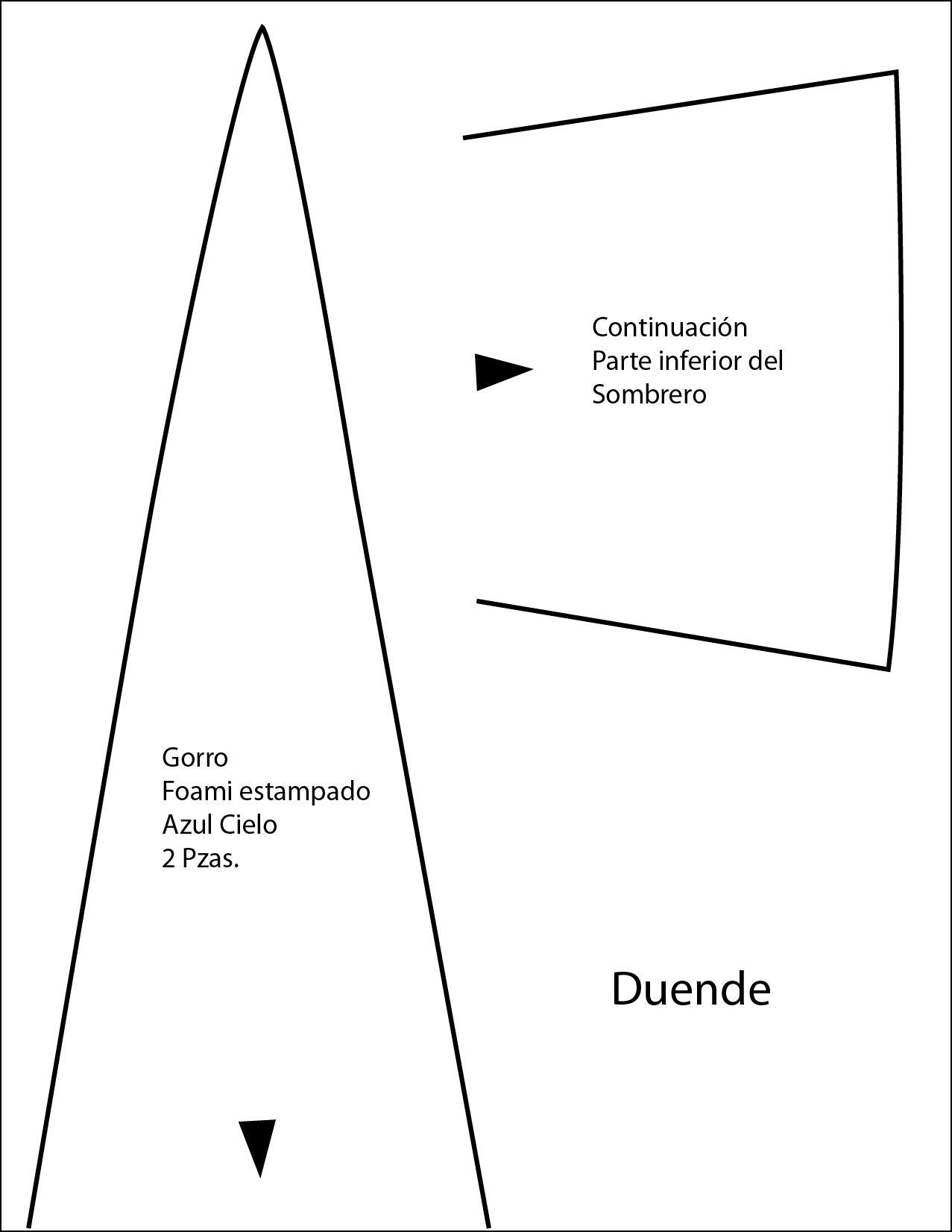 Patron gorro duende - Imagui | accesorios moda | Pinterest