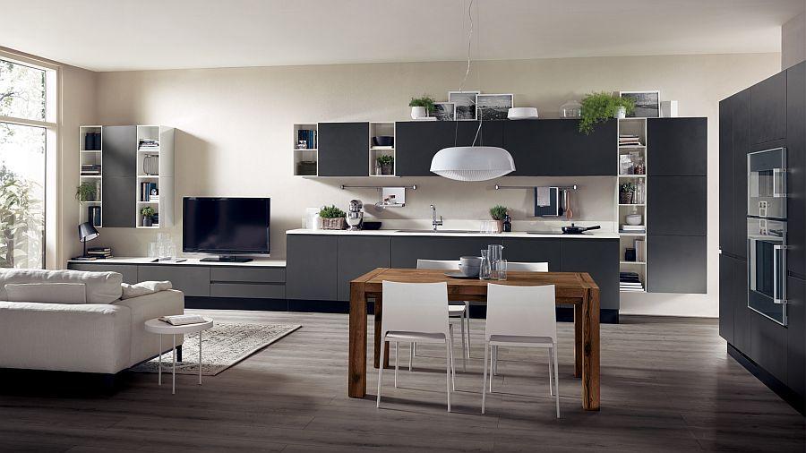 Adaptable Kitchen Compositions That Showcase Trendy Fluidity Unique House Design Home Interior Design Unique Home Decor