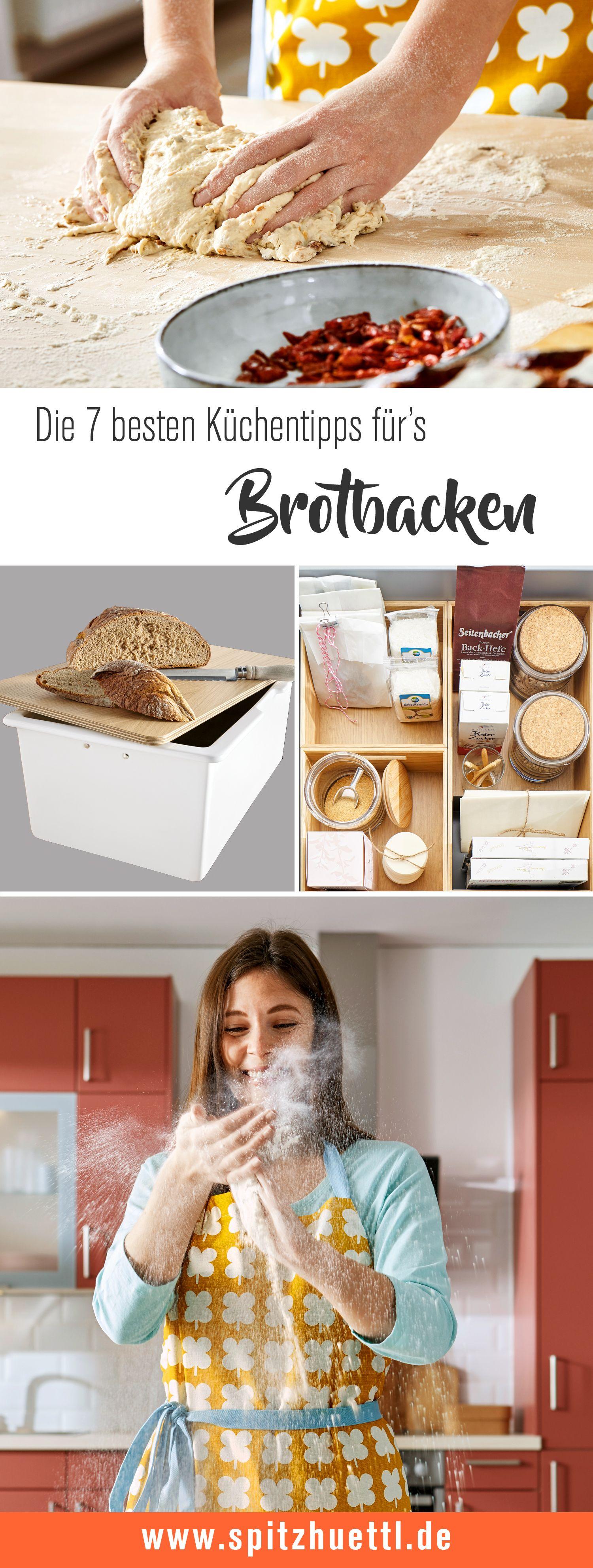 7 Tipps fürs Brotbacken in Ihrer Küche Brot backen