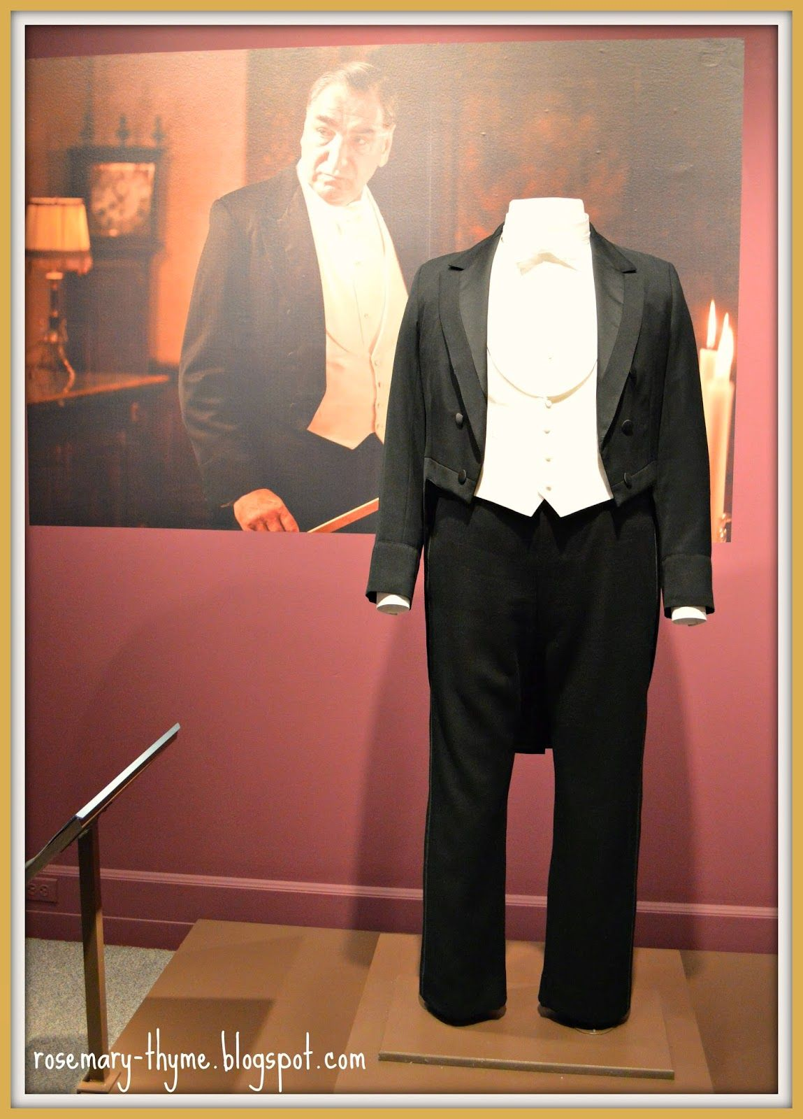 Costumes of Downton Abbey  And we cannot forget our handsome Mr. Carson.
