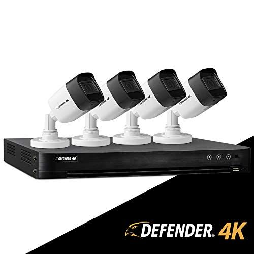 Chance To Win Defender Ultra Hd 4k 8mp Diy Wired Security System With 4 Weather Resistant Night Vision Cameras 1tb Hard Drive And Remote Mobile Viewing