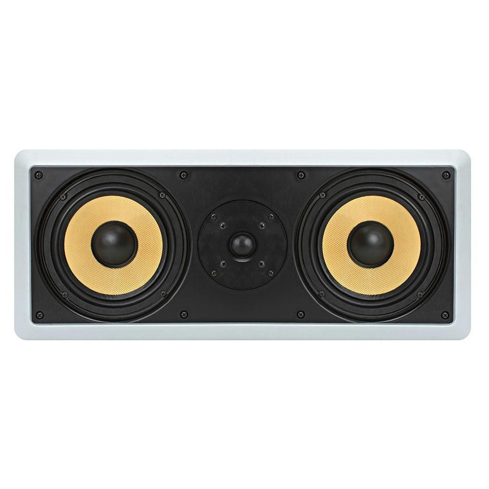 2 X 65 Surround Sound Way In Wall Ceiling Kevlar Speakers Wiring
