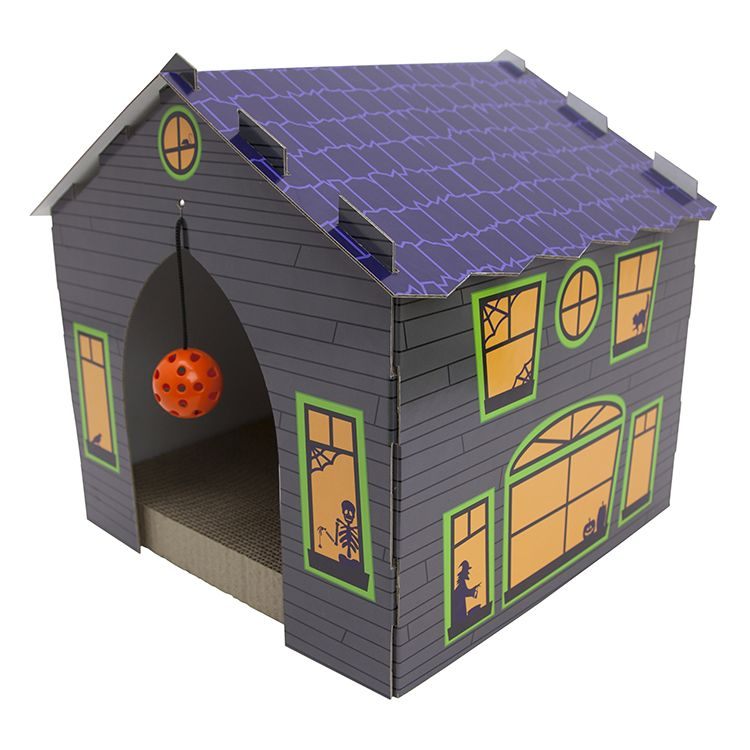 Haunted House Cat Scratcher At Target Stores Halloween Animals