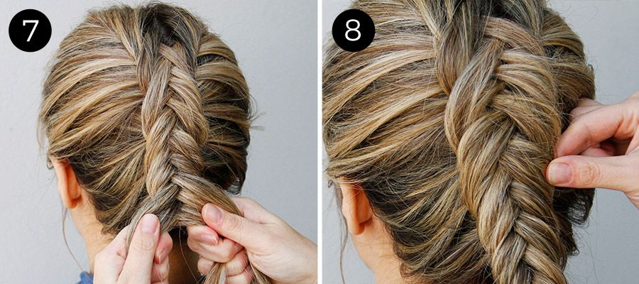 How To Get An Inverted Fishtail Braid That S Sure To Impress Hiukset