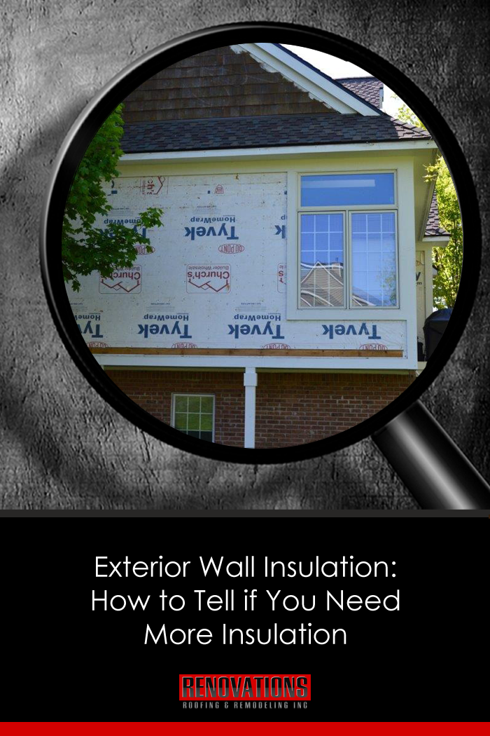 Exterior Wall Insulation How To Tell If You Need More Insulation Exterior Wall Insulation Wall Insulation Exterior