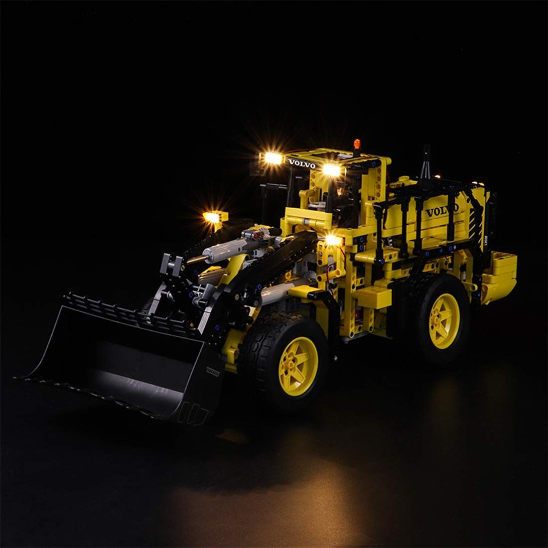 Tetake Licht Beleuchtung Led Beleuchtungsset Fur Lego Technic 42030 Volvo L350f Radlader Nicht Enthalten Lego Mode In 2020 Battery Operated Led Lights Volvo Lego Kits