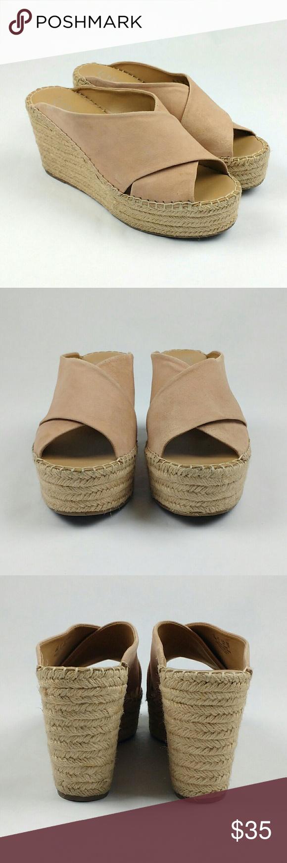 1e02c26c3cbd Franco Sarto Tiffany Wedge Sandals Sz 10 Franco Sarto wedge sandals in good  condition. Pre