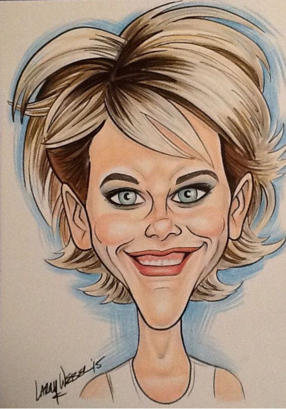 Image result for meg ryan caricature