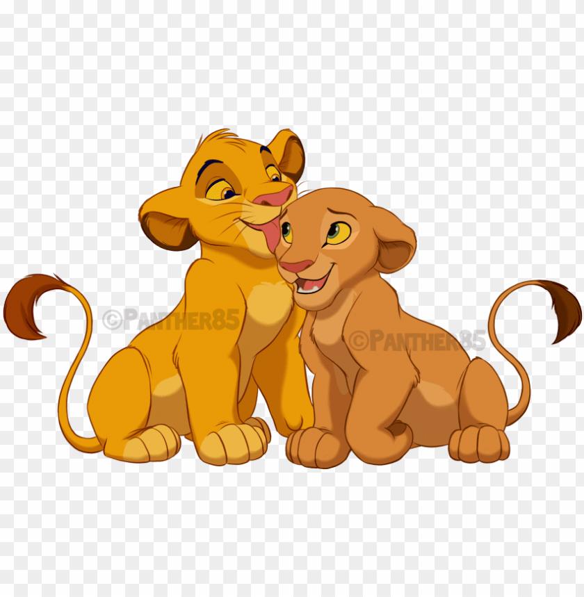 Lion Nala Simba Drawing Fan Art Simba And Nala Not Transparent Png Image With Transparent Background Png Free Png Images Simba And Nala Lion King Drawings Nala Lion King