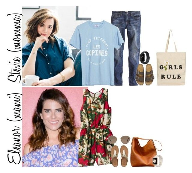 """""""Saturday // Play Date at Sky Zone, Physical Therapy & At the Park // 7.22.1 7"""" by graywolf145 ❤ liked on Polyvore featuring FitFlop, Madewell, J.Crew, Birkenstock, Topshop and StevieandEleanor"""