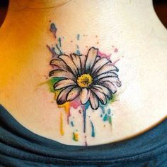 12 Pretty Daisy Tattoo Designs You May Love Pretty Designs Daisy Tattoo Designs Tattoos Watercolor Daisy Tattoo