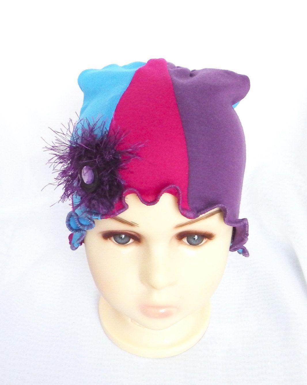 Chapeau souple chimio, petit enfant bébé,bonnet, cancer, couvre tête perte 09a5fe411ec