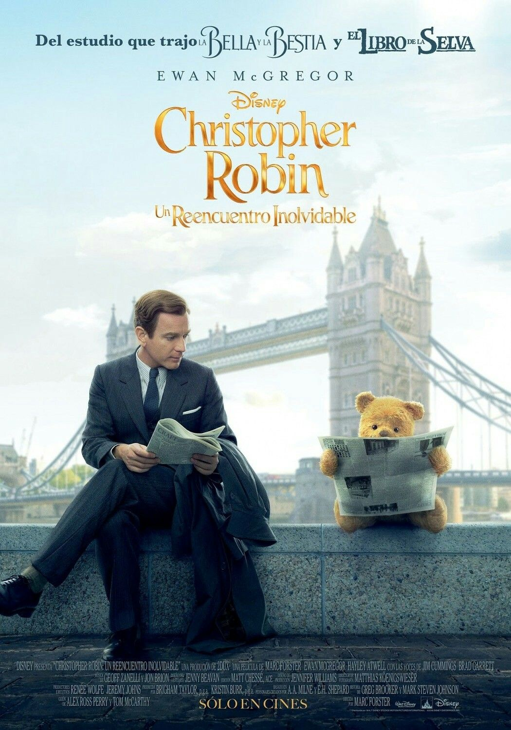 Christopher Robin movie poster Fantastic Movie posters #SciFimovies posters  #Horrormovies posters #Actionmovies posters #Dramamovies posters  #Fantasymovies ...