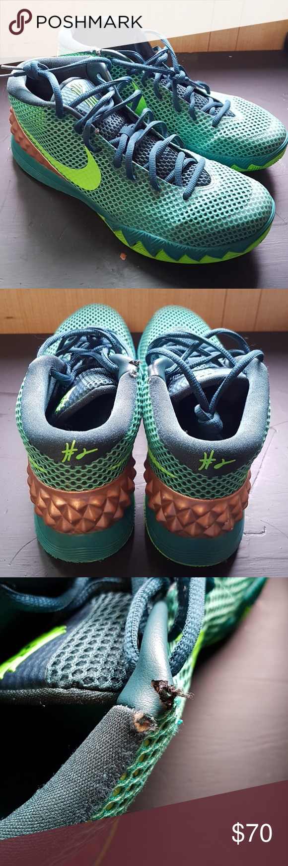 size 40 0d3e7 1ec91 Nike kyrie 1 Australia They like new it have a little rip bit still fire  Nike
