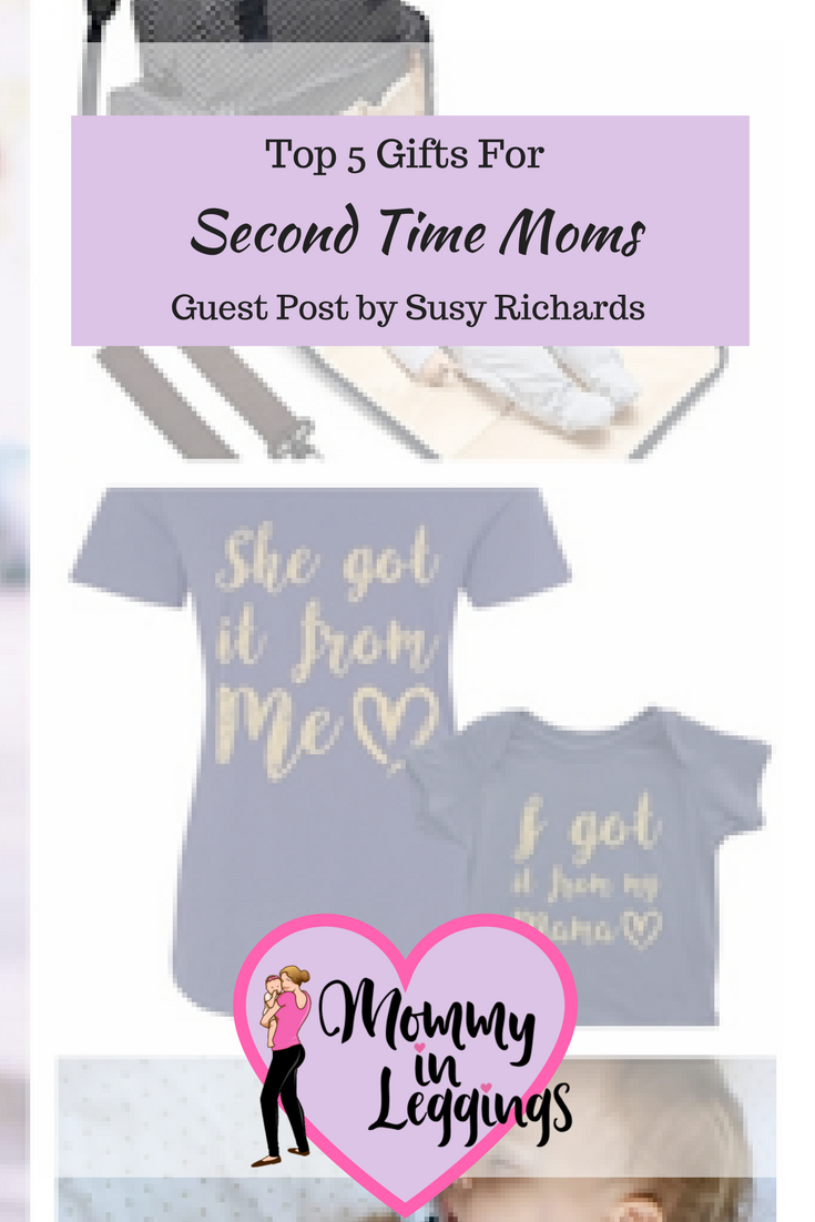 Guest Post: Top 5 Gifts for Second Time Moms | Mommy in