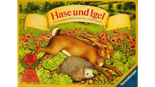 Hase und Igel, Spiel des Jahres 1979. Das erste Spiel des Jahres.