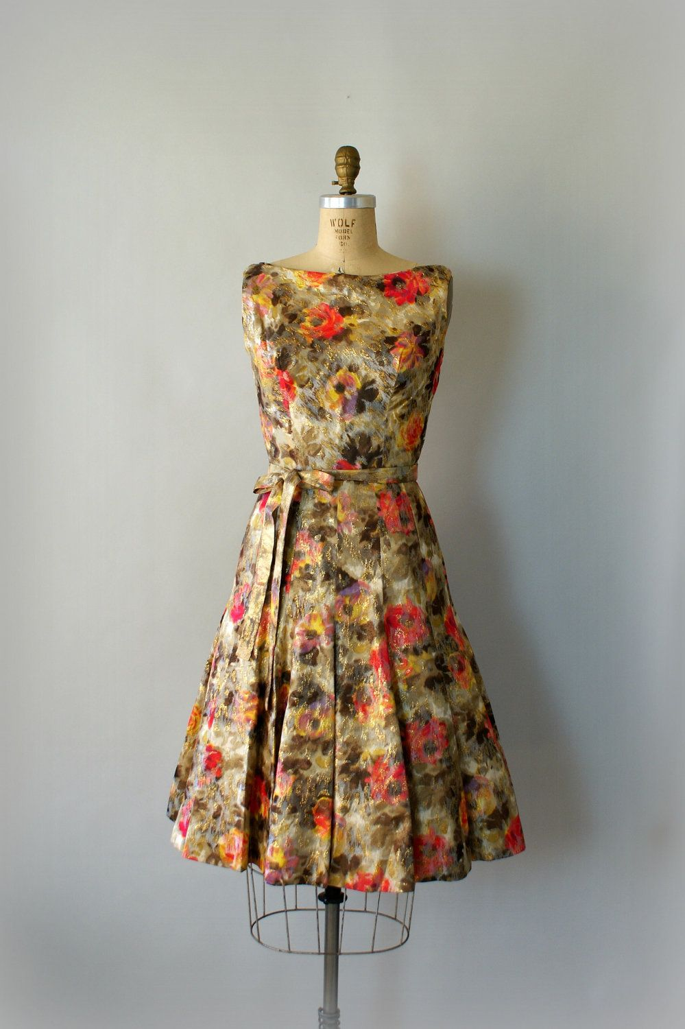 Vintage 1960s Suzy Perette Party Dress