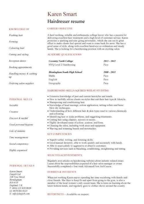 Resume Objective Example For Customer Service Fashion Stylist Resume Objective Examples  Httpwww.resumecareer .